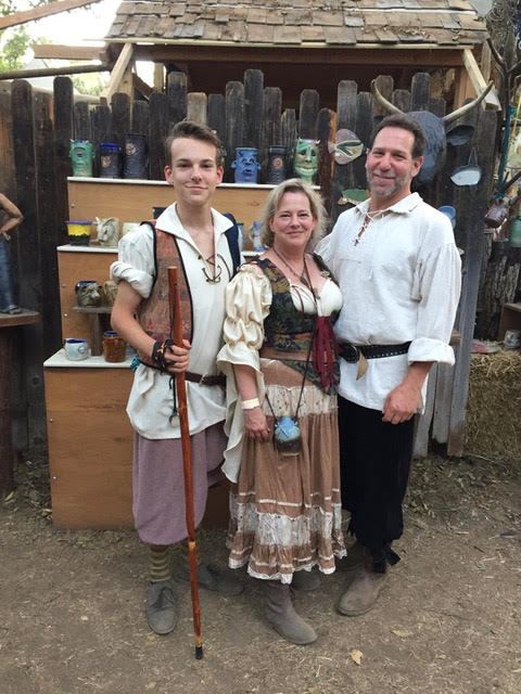 The Beckers at Ren Faire